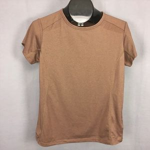 Columbia Titanium T-Shirt Large Brown Womens